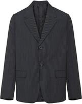 Prada striped boxy blazer
