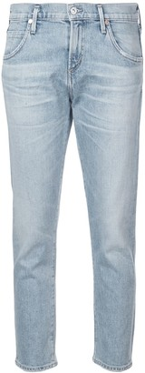 Citizens of Humanity Cropped Mid-Rise Jeans