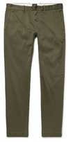 J.crew - 484 Slim-fit Stretch-cotton Twill Chinos