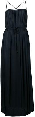 Filippa K Tie-Waist Flared Dress