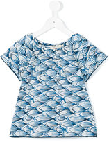 Nice Things Ink Fish top - kids - Cotton - 4 yrs