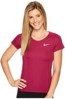 Nike Dry Miler Short Sleeve Running Top Women's Clothing