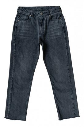 Raey Black Cotton Jeans