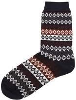Merino Wool Duxbury Fair Isle Socks