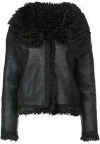 Oscar de la Renta classic shearling jacket