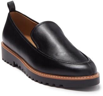 Susina Kaira Leather Lug Sole Loafer