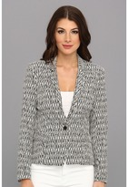 Graham & Spencer JQJ3929 Mali Stretch Jacquard Blazer