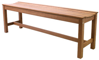 Outdoor Interiors Backless Curved Bench