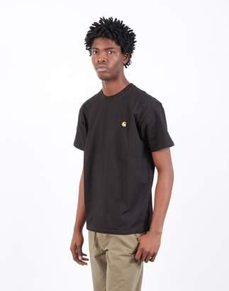 Carhartt Wip WIP - Short Sleeve Chase T-Shirt Black