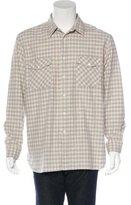 Billy Reid Graham Plaid Shirt w/ Tags