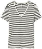 Banana Republic Stripe SUPIMA® Cotton Vee