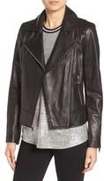 Andrew Marc Women's Nappa Leather Moto Jacket