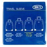 """Bric's Transparent 30"""" Life & Magellano & Firenze Spinner Cover"""