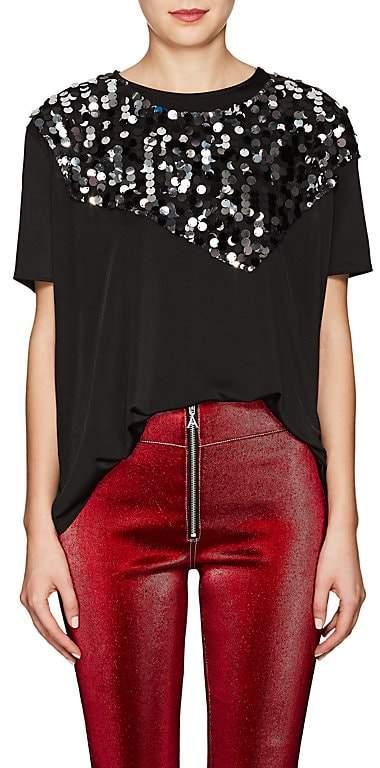 MM6 MAISON MARGIELA Women's Embellished Jersey T-Shirt