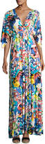 Rachel Pally Floral-Print Caftan Maxi Dress