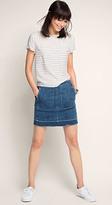 Esprit OUTLET stretch denim mini skirt