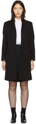Comme des Garcons Black Wool Formal Coat