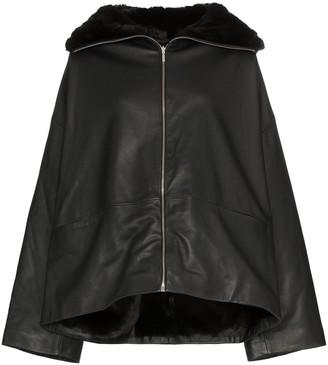 Totême Annecy leather jacket