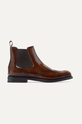 Church's Ketsby Glossed-leather Chelsea Boots - Brown