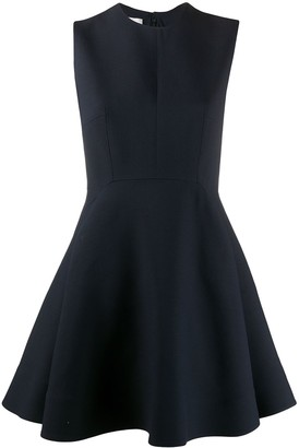 Valentino Crepe Mini Dress