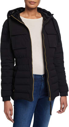 Moose Knuckles Kedgwick Quilted Jacket w/ Hood