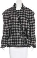 Chanel Caban Tweed Jacket w/ Tags