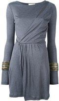 Pierre Balmain asymmetric wrap dress
