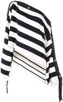 Monse striped off shoulder sweater