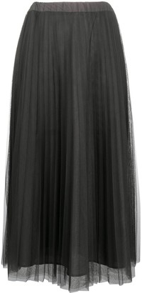 P.A.R.O.S.H. Parallel pleated skirt