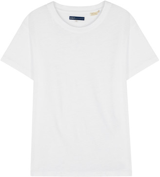 Levi's White Cotton T-shirt