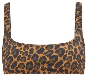 Fisch Colombier Leopard-print Bikini Top - Leopard