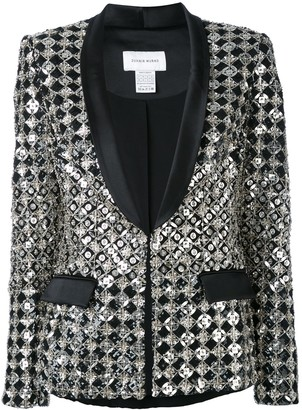 ZUHAIR MURAD embroidered dinner blazer