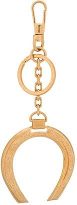 Versace Horsehoe Charm Key Ring