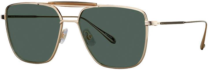 fe8ca78d77c03 Garrett Leight Gold Men s Sunglasses - ShopStyle