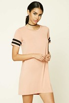 Forever 21 Varsity-Stripe T-Shirt Dress
