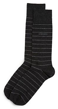 BOSS Brad Striped Dress Socks