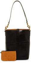Frye Ilana Leather Bucket Hobo Bag