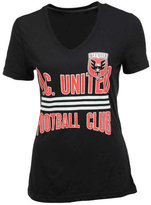 adidas Women's DC United Middle Stripes T-Shirt