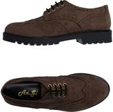 AN. GI Lace-up shoes