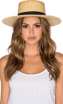 Janessa Leone Klint Hat in Tan. - size L (also in M,S)