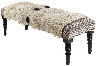 Bungalow Rose Coudersport Upholstered Bench