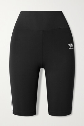 adidas Striped Recycled Stretch-jersey Shorts
