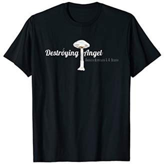 Destroying Angel   Amanita Mushroom T-Shirt Shroom Shirt Tee