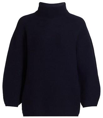 Max Mara Etrusco Wool & Cashmere Mockneck Knit Sweater