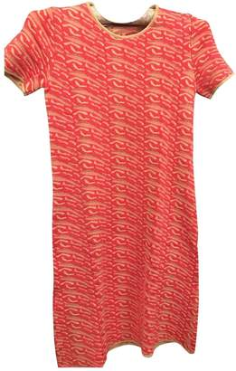 Bouchra Jarrar Pink Viscose Dresses