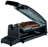 Oster 7-Minute Grill with Titanium Infused DuraCeramic Coating - Black CKSTCG20K-TECO