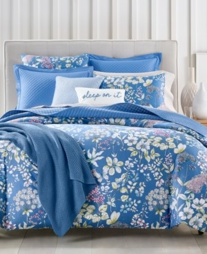 Charter Club Damask Designs Meadow 300-Thread Count 3-Pc. King Comforter Set, Created for Macy's Bedding