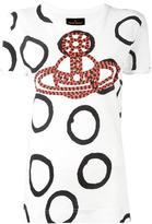 Vivienne Westwood orb print T-shirt - women - Cotton - M