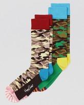 Happy Socks Camouflage Trouser Socks