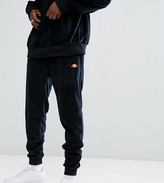 Ellesse Velour Joggers In Black